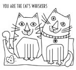 Cats Whiskers Clear Woodware Stamp (FRS038)